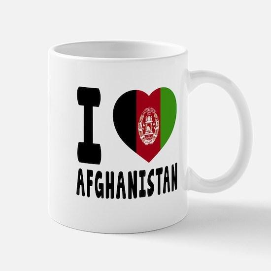 I Love Afghanistan Mug