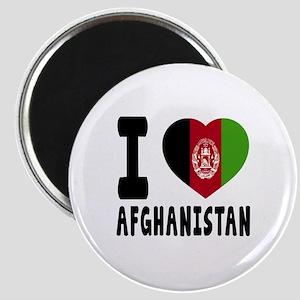 I Love Afghanistan Magnet