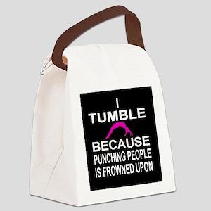 I Tumble Canvas Lunch Bag