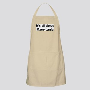 About Mauritania BBQ Apron