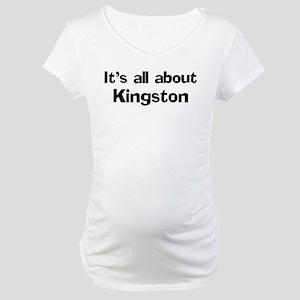 About Kingston Maternity T-Shirt