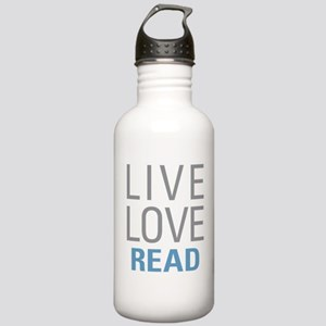 Live Love Read Stainless Water Bottle 1.0L