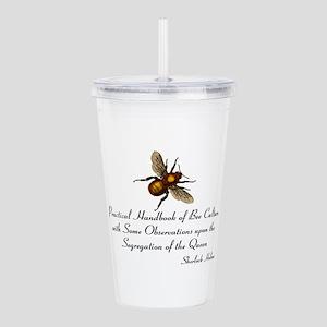 Sherlock's Bees Acrylic Double-wall Tumbler