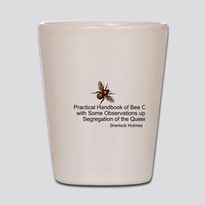 Sherlock's Bees Shot Glass