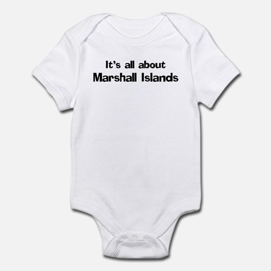 About Marshall Islands Infant Bodysuit