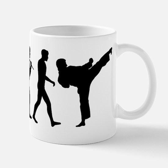 Martial Arts Evolution Mug