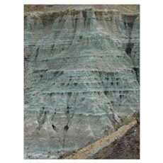Fossil Beds Poster