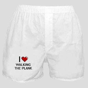 I love Walking The Plank digital desi Boxer Shorts