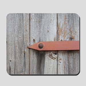 old wood Mousepad