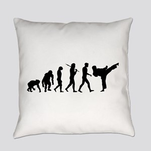 Martial Arts Evolution Everyday Pillow