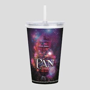 PAN: Spaceboat Tumblr Acrylic Double-wall Tumbler