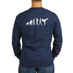 Martial Arts Evolution Long Sleeve Dark T-Shirt