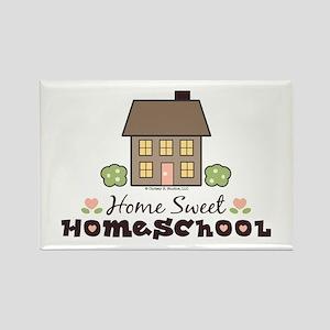 Home Sweet Homeschool Rectangle Magnet Gift