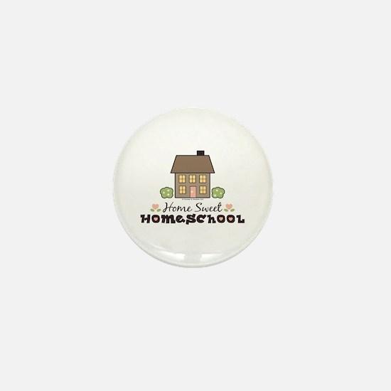 Home Sweet Homeschool Mini Button Gift