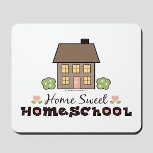 Home Sweet Homeschool Gift Mousepad