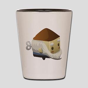 Gnome Cubimal Shot Glass