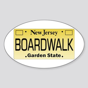 Boardwalk NJ Tag Giftware Sticker