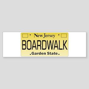 Boardwalk NJ Tag Giftware Bumper Sticker