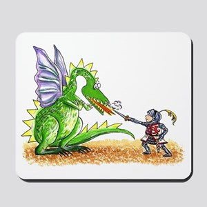 Brave Knight Mousepad