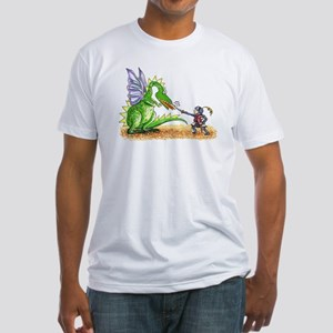 Brave Knight Fitted T-Shirt