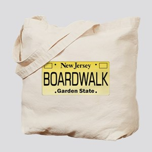 Boardwalk NJ Tag Giftware Tote Bag