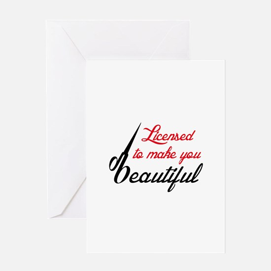 MAKE YOU BEAUTIFUL Greeting Cards