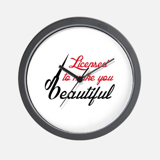 MAKE YOU BEAUTIFUL Wall Clock