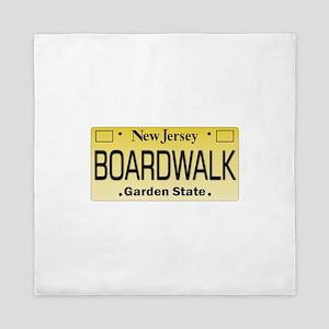 Boardwalk NJ Tag Giftware Queen Duvet