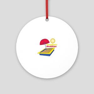 Sandbox Buddies Round Ornament
