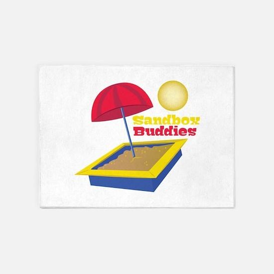 Sandbox Buddies 5'x7'Area Rug