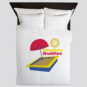 Sandbox Buddies Queen Duvet