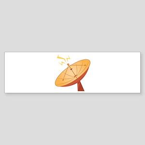 Satellite Dish Bumper Sticker