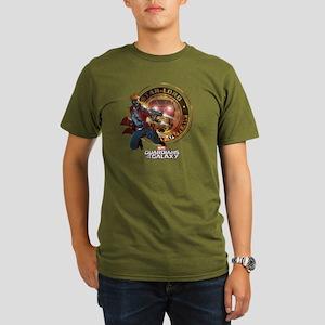 Guardians of the Gala Organic Men's T-Shirt (dark)