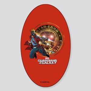 Guardians of the Galaxy Star-Lord Sticker (Oval)