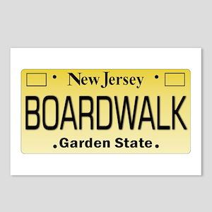 Boardwalk NJ Tag Giftware Postcards (Package of 8)