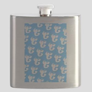 Blue Lobster Victor's Fave Flask