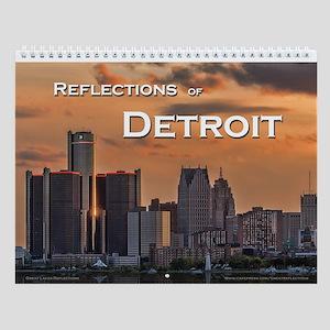 Detroit Wall Calendar