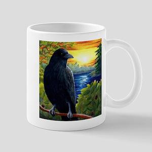 Bird 63 crow raven Mugs