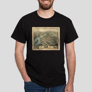 Vintage Pictorial Map of Birmingham CT (18 T-Shirt