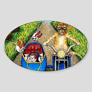 Cat 384 Sticker