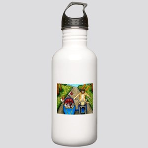 Cat 384 Stainless Water Bottle 1.0L