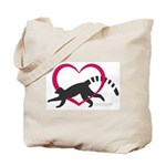 Lemur Love Logo Tote Bag