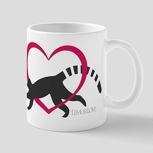 Lemur Love Logo Mugs
