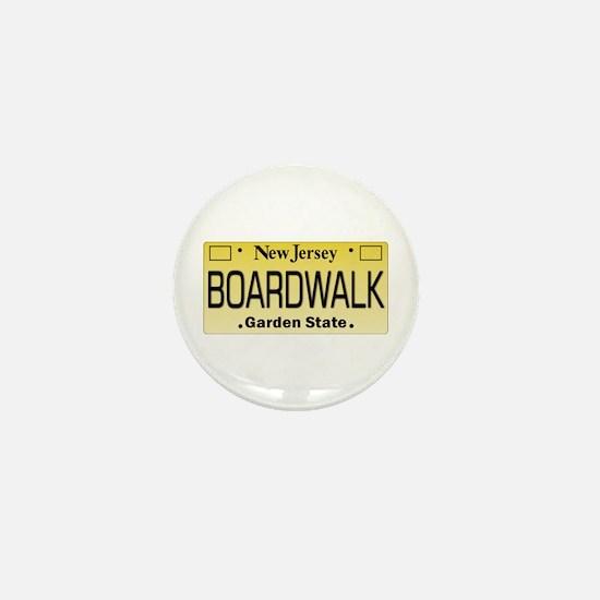 Boardwalk NJ Tag Giftware Mini Button