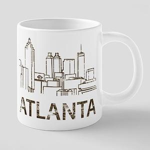 Vintage Atlanta Mugs