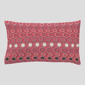 Retro Circles Pillow Case