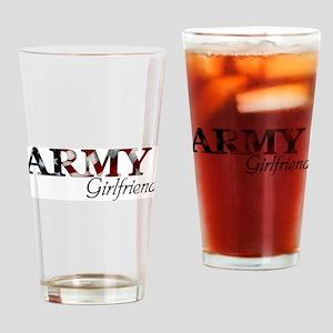 Girlfriend Army_flag  Drinking Glass
