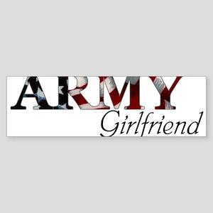 Girlfriend Army_flag Bumper Sticker