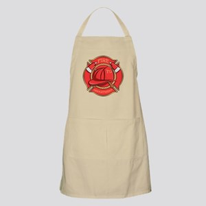 Firefighter Badge Apron