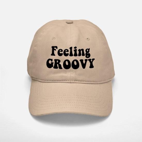 Feeling Groovy Baseball Baseball Cap